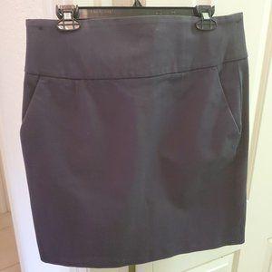 Banana Republic Gray Stretch Skirt Sz 12